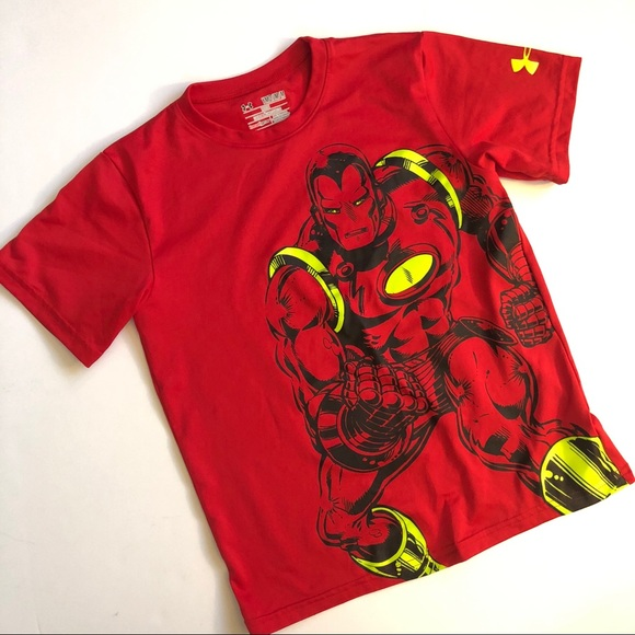 b5a868bb Under Armour Shirts & Tops | Captain America Top | Poshmark